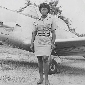 Melody Millicent Danquah, première femme pilote au Ghana